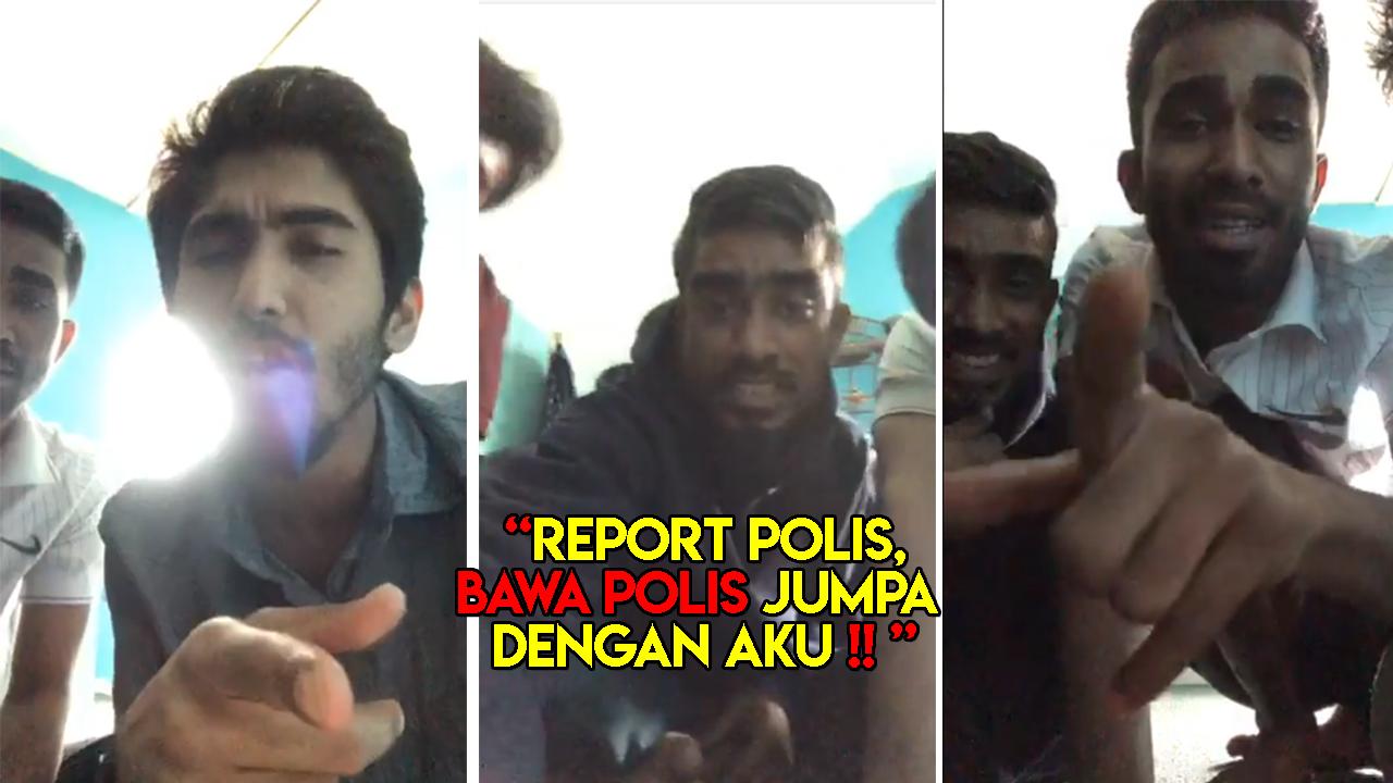 Tak puas hati, Report Polis bawa jumpa dengan Aku