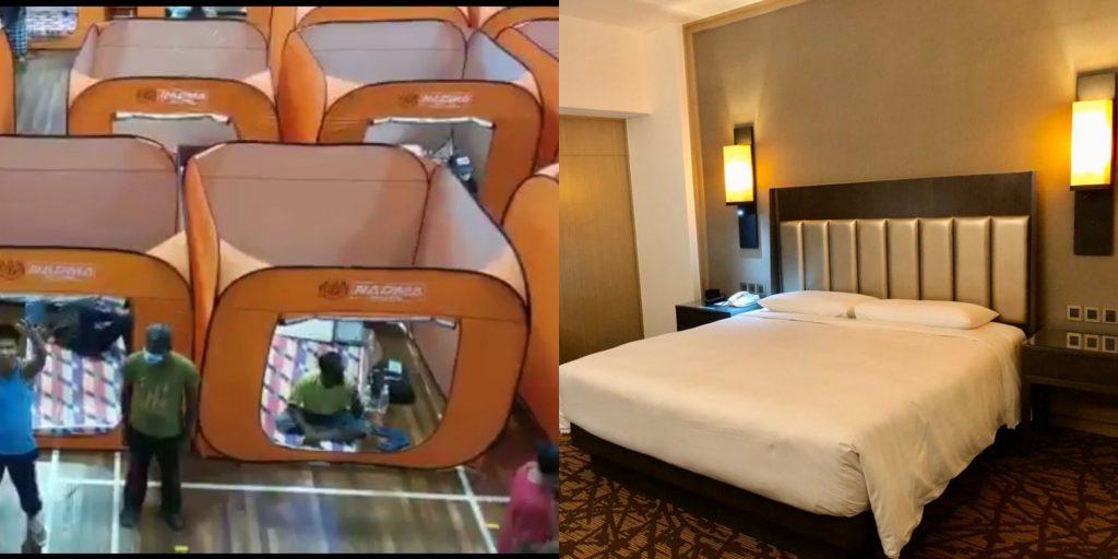 Kuarantin di Hotel