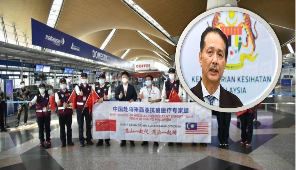 Kedatangan Pakar Dari China, KP Kesihatan Kongsi Tugas Sebenar ...