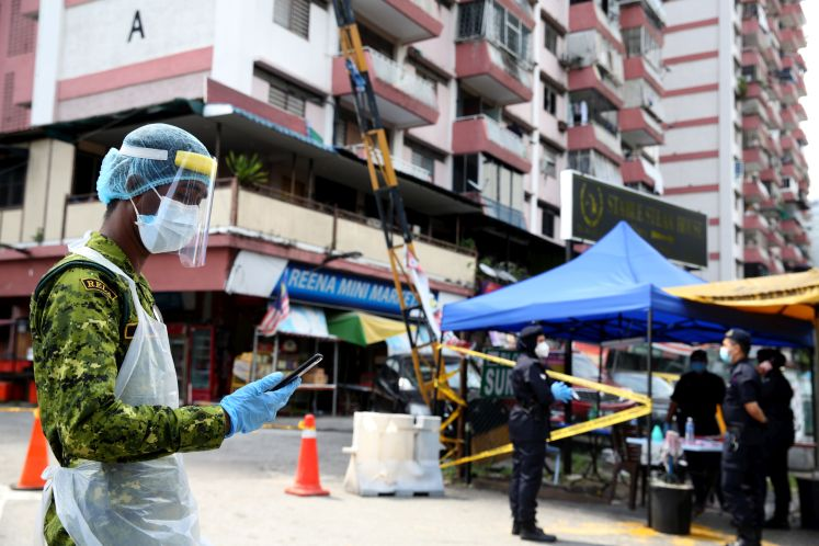 Four new cases reported in both Kampung Baru and Bali clusters ...