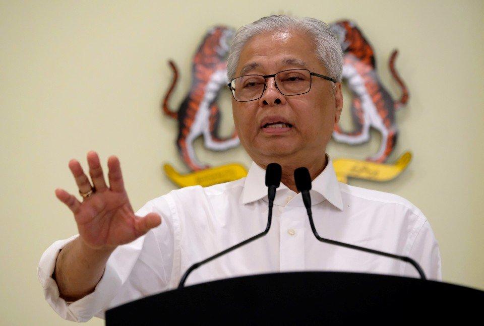 Menteri Kanan (Keselamatan), Datuk Seri Ismail Sabri Yaakob.