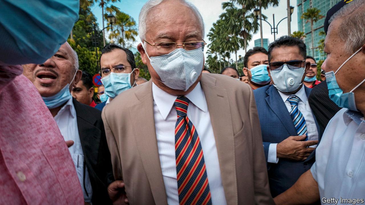 Malaysia's ex-prime minister falls further - Najib Razak is ...