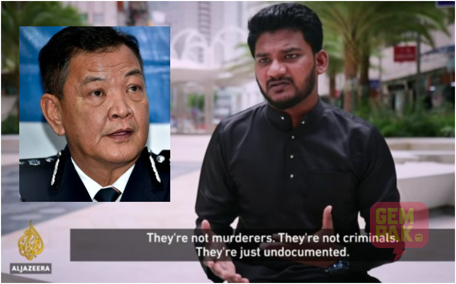 """""""Permit Kerja Rayhan Kabir Dah Dibatalkan, Dia Perlu Serah Diri Sebelum Diusir Balik Ke Negara Asal!"""" – Ketua Polis Negara"""