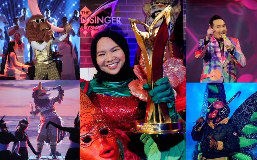 Bunga Raya, AinaAbdul JuaraThe Masked Singer Malaysia!